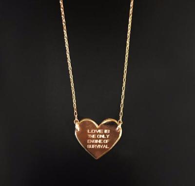 Heart necklace - Just Believe Jewelry
