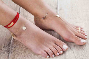 Triangle Ankle - Just Believe Jewelry