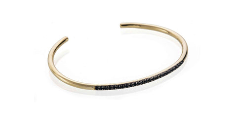 Shine on Bracelet - Black Zirkons