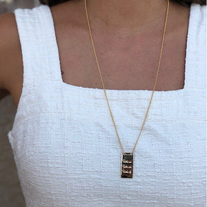 XL Bar - Necklace - Just Believe Jewelry