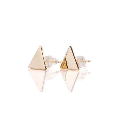 Triangle Earrings - Just Believe Jewelry