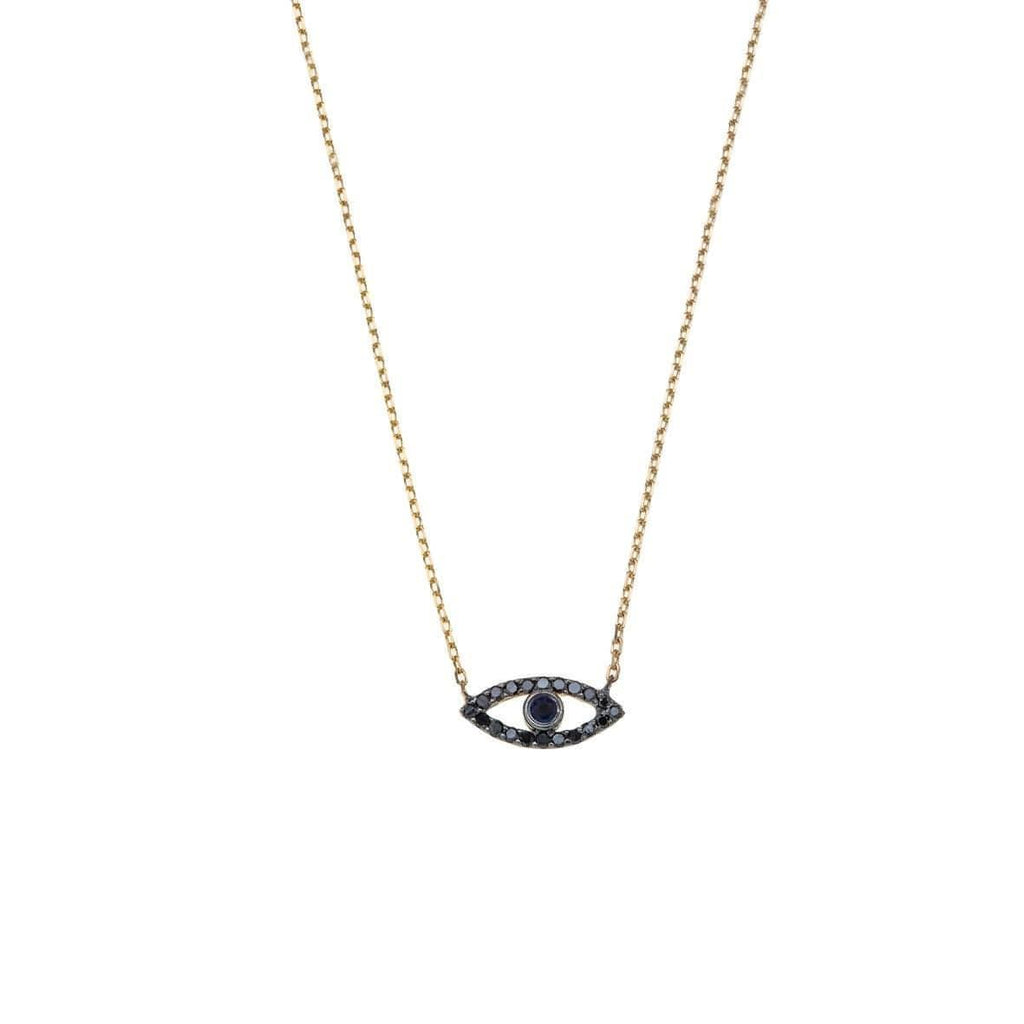 Eye -14K gold with Diamond