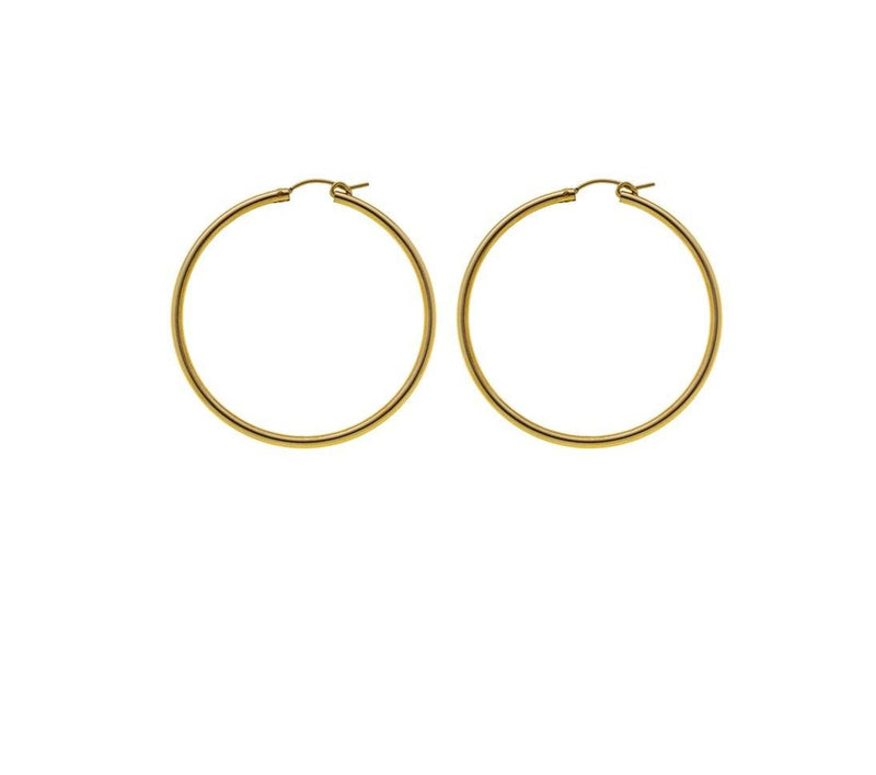 Hoop earring- Goldfilled
