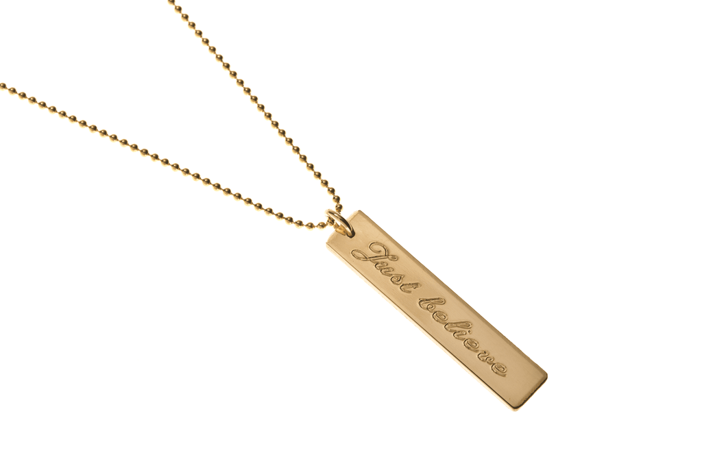 just believe necklace - Just Believe Jewelry