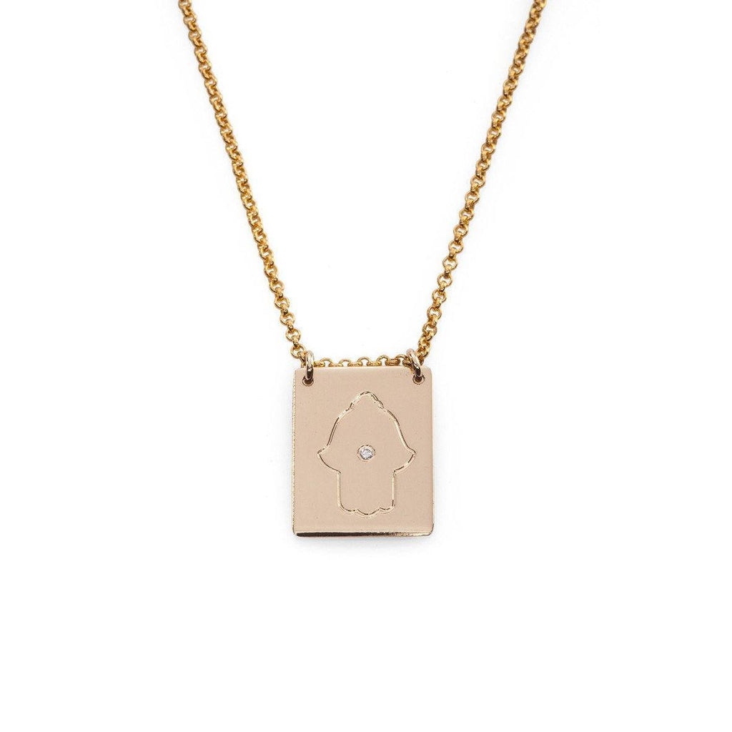 Hamsa Necklace - Just Believe Jewelry