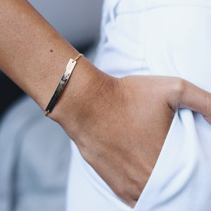 Fine Rectangle Bracelet