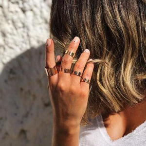 Nesya Wide Ring - Just Believe Jewelry
