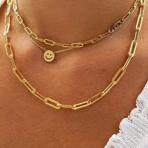 Smile- Gold 14K Necklace