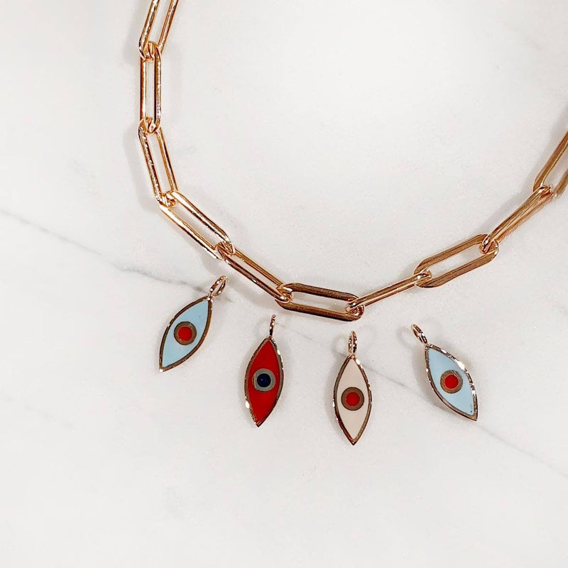 Eye 14K - Chunky necklace
