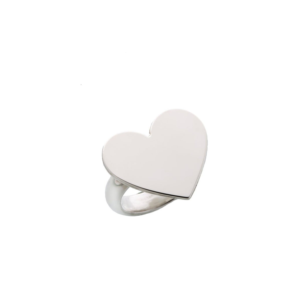 Heart ring- Silver