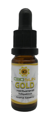 10% CbdSun Bio Öl Gold Vollspektrum aus Co2 Aroma Essenz