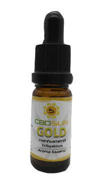 5% CbdSun Bio Öl Gold Vollspektrum aus Co2 Extraktion Aroma Essenz