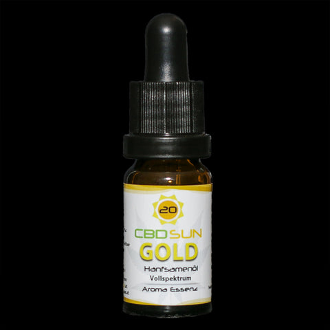 CbdSun Gold 20%, 10ml, CO² Aroma Essenz