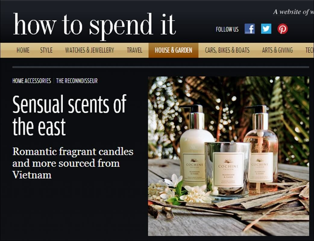 Financial Times - how to spend it, June 2012