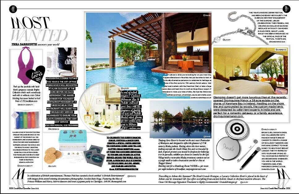 CONDE NAST TRAVELLER UK, June 2012