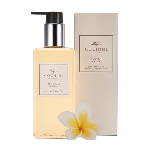 Cochine Frangipani & Neroli Hand & Body Wash