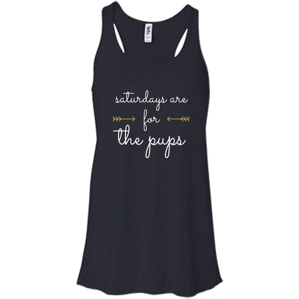 Saturdays Are For the Pups Tank