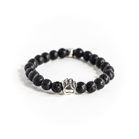 Lava Stone Bracelet, Bracelet, The Pup Nation - The Pup Nation