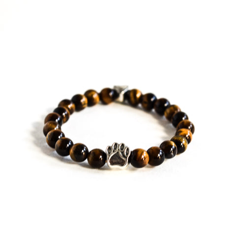 Tiger Eye Bracelet, Bracelet, The Pup Nation - The Pup Nation