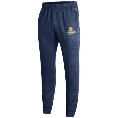 Men's Eco Powerblend Fleece Jogger by Champion in Navy & Charcoal