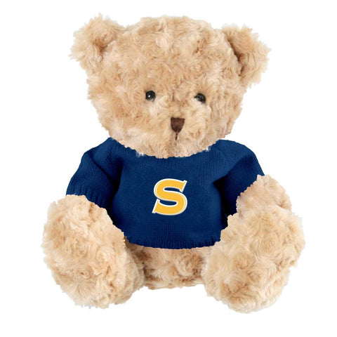 ***New Product***Soft and Cuddly Toffee Spartan Bear with 2 sweaters