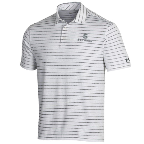 Under Armour Playoff Tour Polo - Heather Stripe