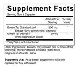 Green Tea Extract - 500 mg (4-Week Supply)