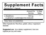 L-Glutathione - 100 mg (4-Week Supply)