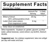 Lutein and Bilberry (4-Week Supply)