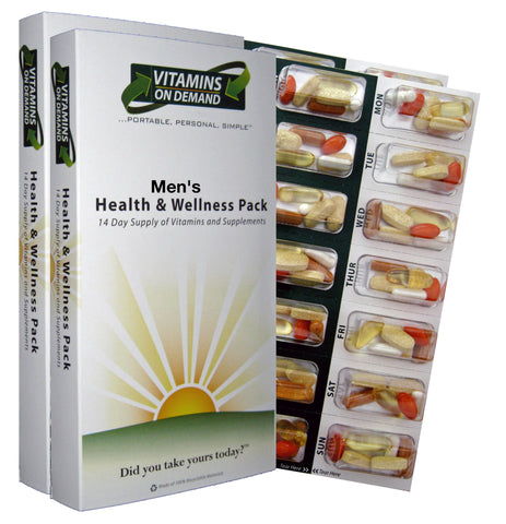 Men's Health & Wellness Vitamin Pack (4-Week Supply)