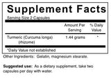 Curcumin (Turmeric) - 1.44 g (4-Week Supply)