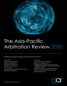 The Asia-Pacific Arbitration Review 2020
