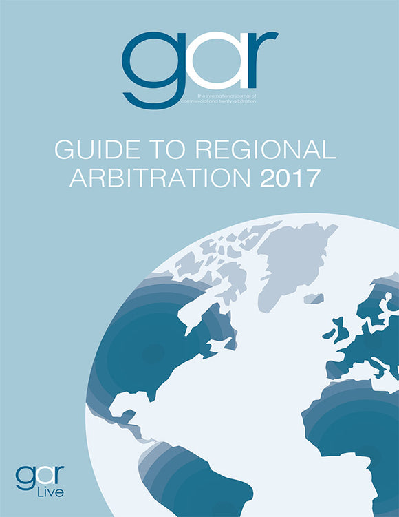Guide to Regional Arbitration 2017