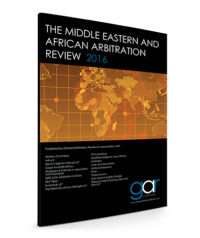 The Middle Eastern and African Arbitration Review 2016