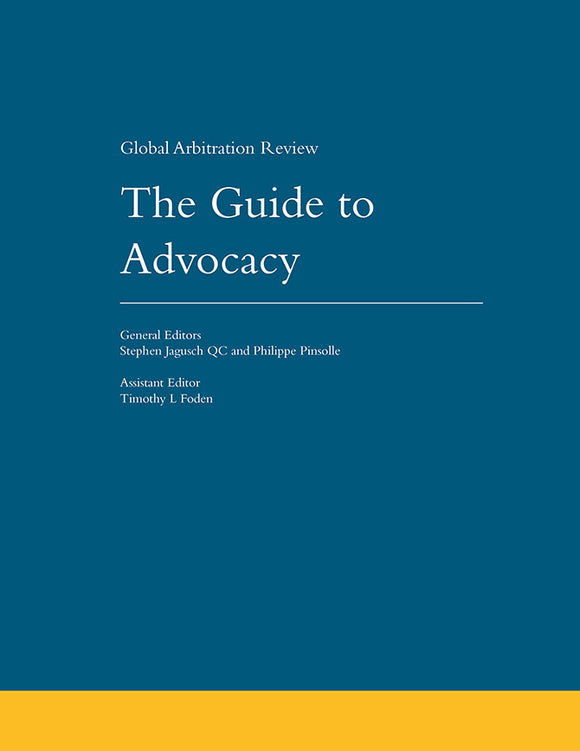 The Guide to Advocacy, 1st Edition