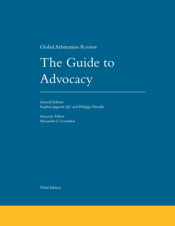 The Guide to Advocacy, 3rd Edition