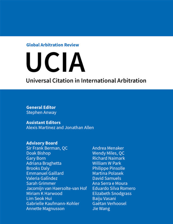 Universal Citation in International Arbitration - Promotional offer