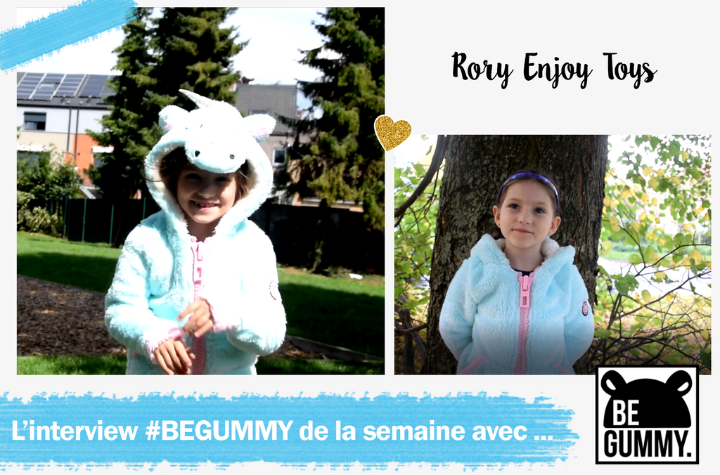 L'interview #BEGUMMY avec... RoryEnjoyToys