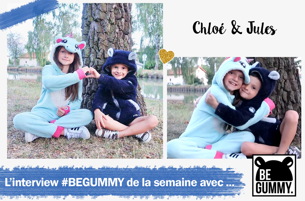 L'interview #BEGUMMY avec... Chloé & Jules