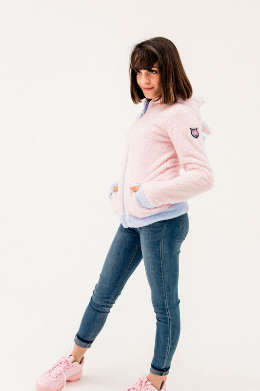 Veste Rose FLY. Enfant