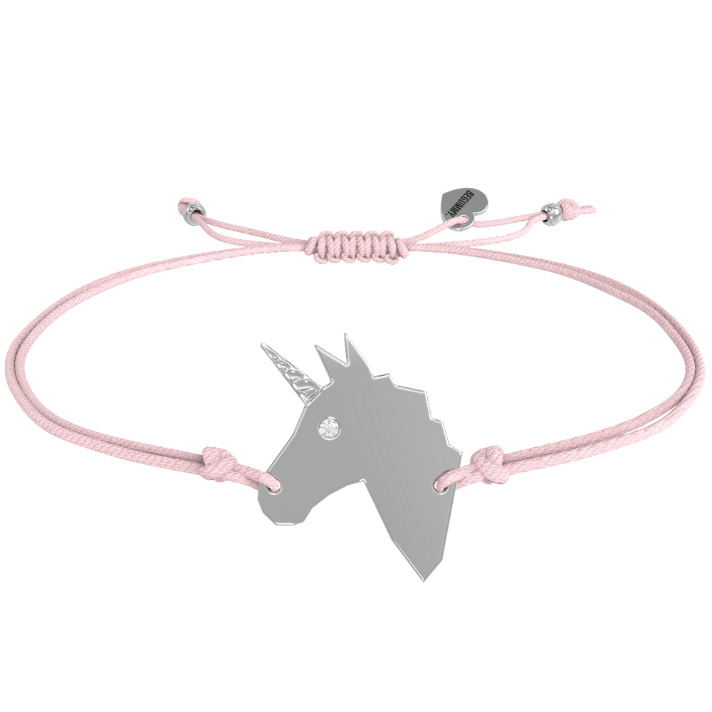 BEGUMMY Diamond - Licorne d'amour Argent
