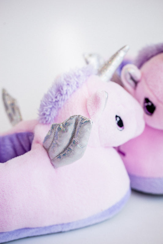 Slippers Unicorn Lila