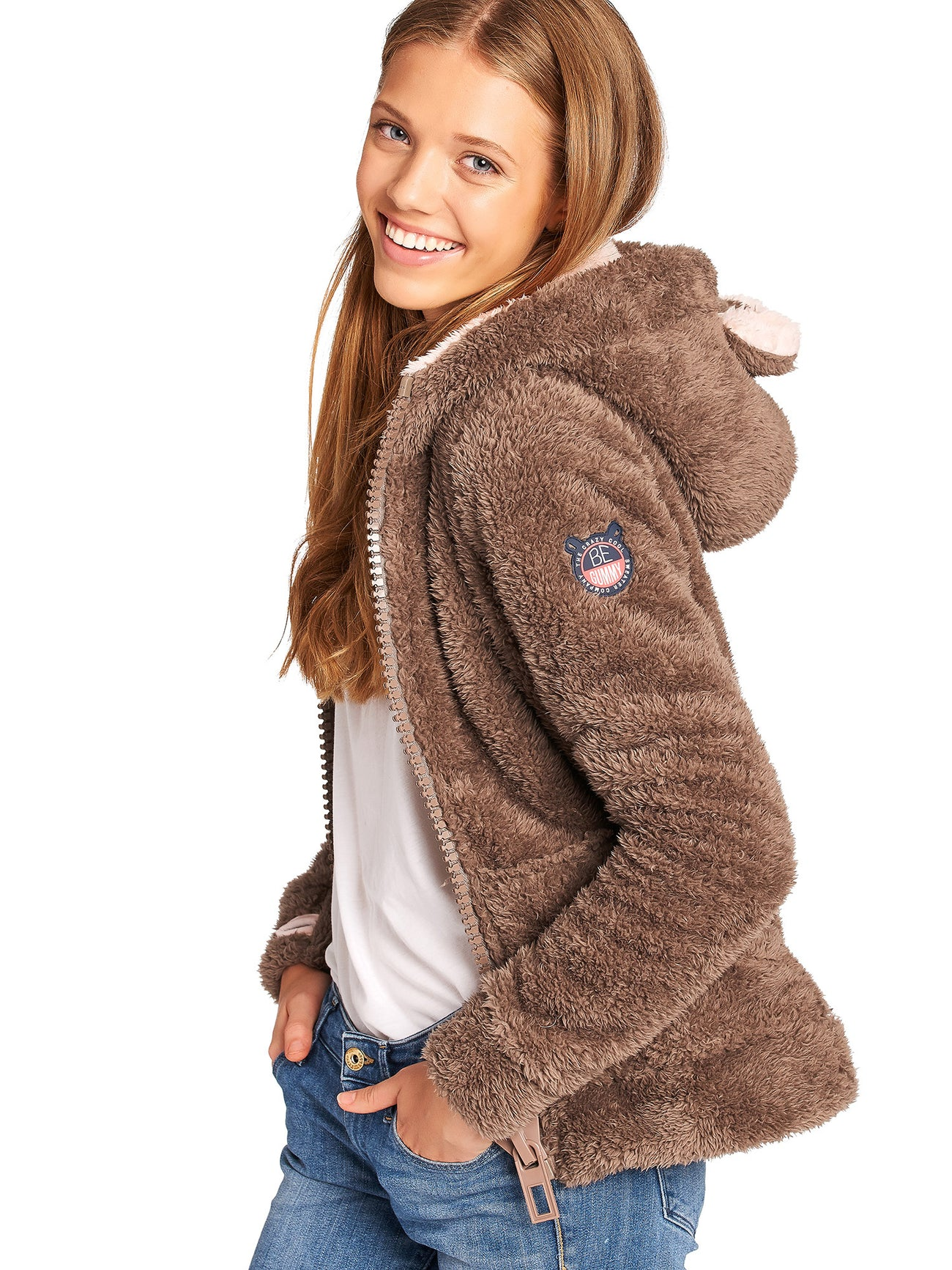 Teddy Brown Soft Furry Sweater