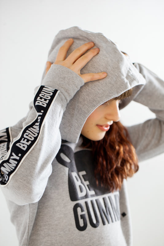 Sweat Gris Chiné Enfants