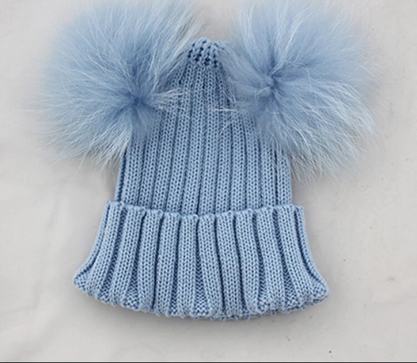 d23db8ebf31 Poppy Double Pom Pom hat. – J caasi london