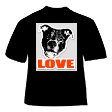 Pitbull Shirts & Stickers
