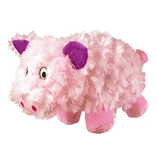 Barnyard Cruncheez Pig Dog Toy From KONG