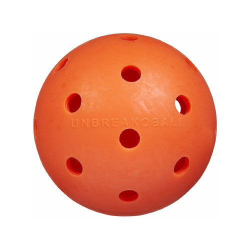 "Original 6"" Unbreakoball Dog Toy - Bright Orange"