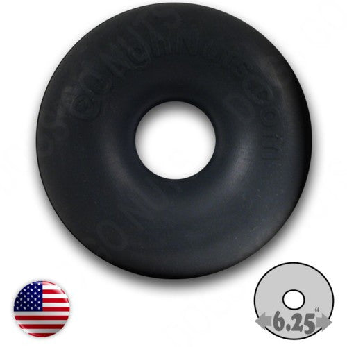 Extreme Maxx Black Large Dog Toy Ring by GoughNuts