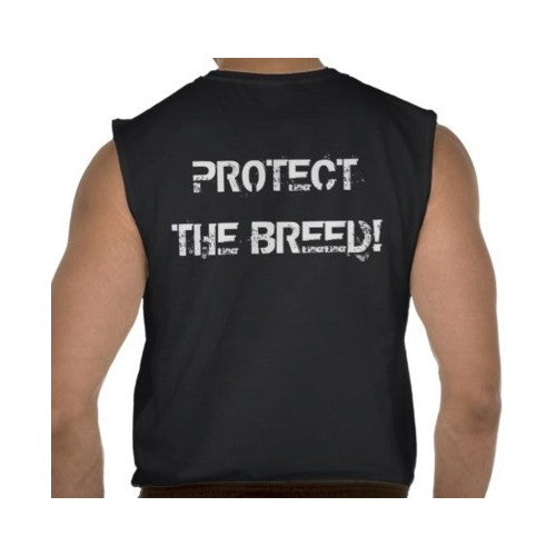 Protect The Breed Mens Sleeveless Muscle Shirt